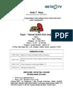 Undangan Ka Eps. 24 Juli 2013