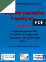 Mish UstinNon-equilibrium phase transitions