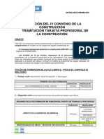Dossier Formacion Del IV Convenio de La Construccion _2