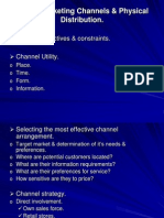6.Global Marketing Channels & Physical Distribution