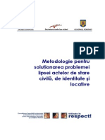 Metodologie Lipsa Acte (RO)