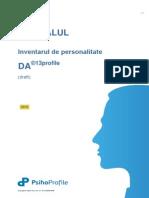 MANUAL Inventarul de Personalitate DA 2013 A