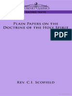 1899 - The Doctrine of the Holy Spirit - Scofield