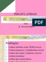 TERAPI LATIHAN