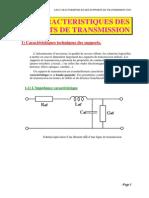 Les Caracteristiques Des Supports de Transmission