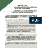 Amendments in Civ. Pro.