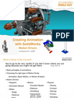 Creating Motion in SolidWorks-Motion Drivers