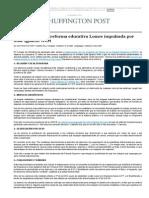 Las 8 claves de la reforma educativa Lomce impulsada por José Ignacio Wert