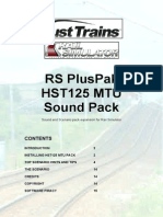 Armstrong PH HST125 MTU Sounds Manual