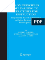 From Principles of Learning to Strategies for Instruction