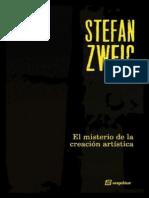 El Misterio de La Creacion Arti - Stefan Zweig
