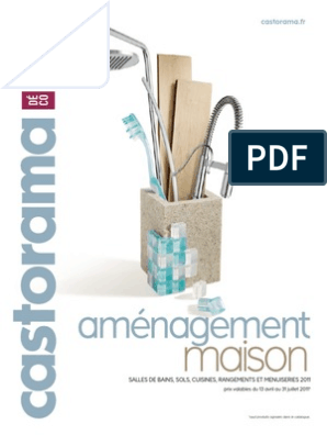 Catalogue Castorama Matériaux Fabriqués Par L Homme