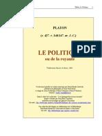 (French) Platon - Le Politique
