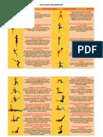 Catálogo de posiciones de acrosport