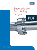 Supergrip Bolts for Rotating Flanges