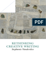 Creative Writing Studies Rethinking Creative Writing Programs