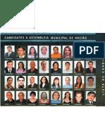 Lista de Candidatos à Assembleia Municipal
