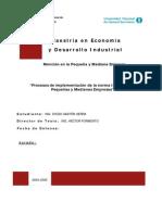 Procesos de Implementac ISO 9000