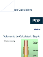 Cementing Calculation