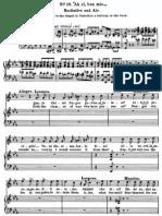 Il Trovatore - Ah! Si Ben Mio... Di Quella Pira (Vocal Score)