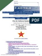 PLA Air Defence Radars