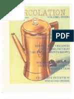 Percolation Issue 1