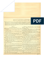 Douay Rheims Bible (Ecclesiastes) with Haydock Commentary