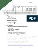 contoh soal statistika penerapan dalam matematika teknik I