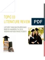 T03 Literature Review