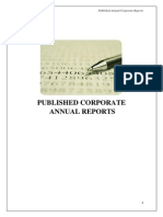 Published Corporate Annual Reports
