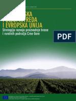 Crnogorska Poljoprivreda i Evropska Unija