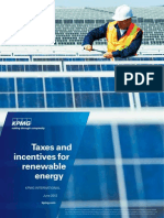 KPMG - Taxes Incentives Renewable Energy (2012)