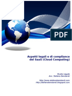 Aspetti legali e di compliance del SaaS (Cloud Computing)