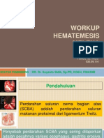 Workup Hematemesis Melena