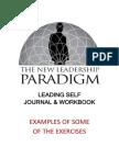 Leading Self Journal Workbook Sample