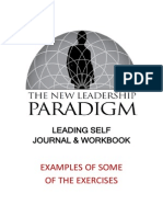 Leading Self Journal Workbook Sample