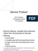 Service Product 2013