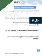 Consejos Proyeccion Internacional Paradiplomacia