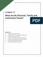 identifying family values