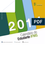 Calendario Do Estudante 2014 Ifms