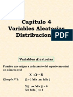 VARIABLES ALEATORIAS DISTRIBUCIONES