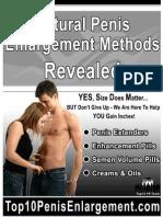 Natural Penis Enlargement Methods Revealed