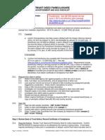 Trust Deed Foreclosure Checklist