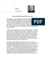 Tim Dees Reviews YourPoliceWrite.com