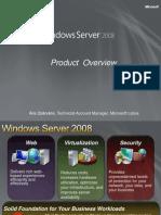 Windows Server 2008 Overview