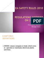 CEA Safety Rules 2010