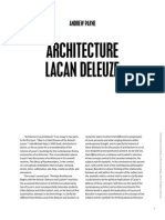Andrew Payne_Architecture, Lacan, and Deleuze