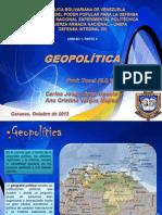 Presentación GEOPOLITICA