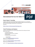 International Services for Idaho Companies