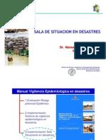 Sala Situacion en Desastres 2007